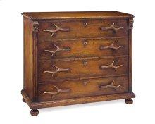 Four-Drawer Antler Dresser