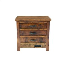 Western Traditions - Elite 3 Drawer Nightstand