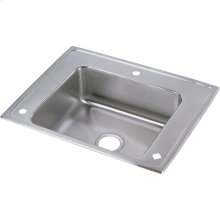 "Elkay Lustertone Classic Stainless Steel 28"" x 22"" x 6-1/2"", Single Bowl Drop-in Classroom ADA Sink"