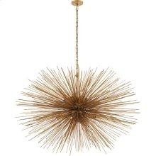 Visual Comfort KW5075G Kelly Wearstler Strada 20 Light 50 inch Gild Pendant Ceiling Light, Kelly Wearstler, Large, Oval