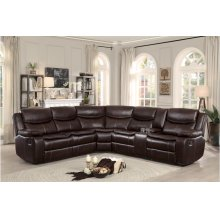 3-Piece Sectional Set: 2LCN + CR+ 2RCN