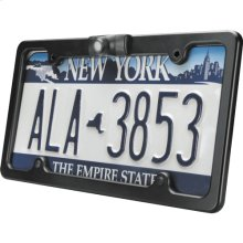 License Plate Frame with an Integrated CCD Camera
