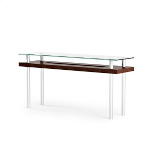 Bdi FurnitureConsole Table 2323 in Chocolate Stained Walnut