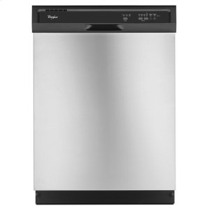 ENERGY STAR(R) Certified Dishwasher with a Soil Sensor - BLACK-ON-STAINLESS