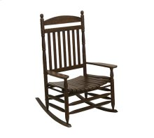 Slat Rocker in Chestnut Matte