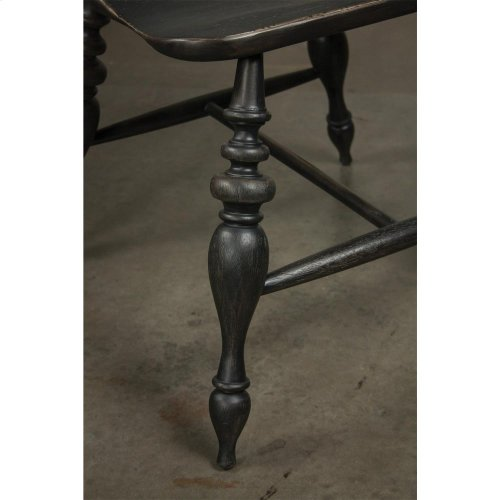 Cassidy - Windsor Side Chair - Charred Oak Finish