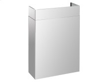 """PRO Line duct cover 30"""", Full width Stainless steel"""