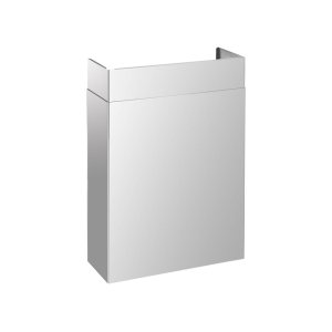 "SuperiorePRO Line duct cover 30"", Full width Stainless steel"