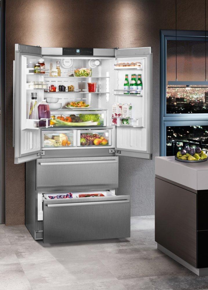 Cs2082 Liebherr 36 Quot Fridge Freezer With Nofrost Fred S