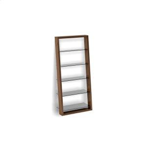 Bdi FurnitureLeaning Shelf 5156 in Natural Walnut