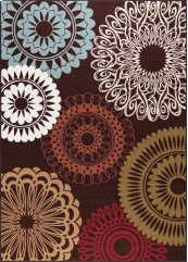 Majesty - MJS1508 Brown Rug