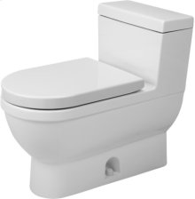 White Starck 3 One-piece Toilet