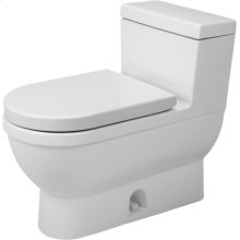 White Starck 3 One-piece Toilet