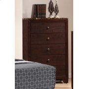 Conner Casual Cappuccino Five-drawer Chest Product Image