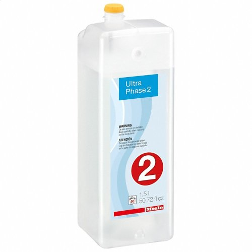 WA UP2 1501 L UltraPhase 2 cartridge, 0.39 gl 2-component detergent for whites and colors.