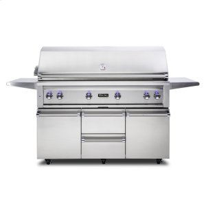 "Viking42""W. Freestanding Grill with ProSear Burner and Rotisserie, Natural Gas"