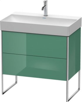 Vanity Unit Floorstanding, For Durasquare # 235380jade High Gloss Lacquer