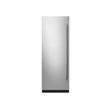 """30"""" Built-In Column Refrigerator with RISE Panel Kit, Left Swing"""