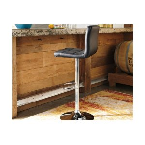 Ashley FurnitureSIGNATURE DESIGN BY ASHLEYTall UPH Swivel Barstool(2/CN)