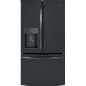GE Profile™ Series ENERGY STAR® 22.2 Cu. Ft. Counter-Depth French-Door Refrigerator with Hands-Free AutoFill