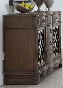 HOT BUY CLEARANCE!!! Parliament Buffet with Fretwork Doors