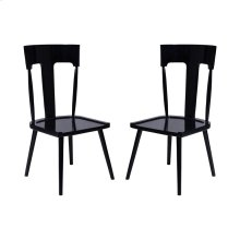 MAHOGANY BREAKFAST CHAIR - Set of 2