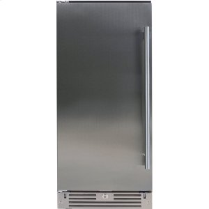 XO APPLIANCE15in Beverage Center Solid SS LH