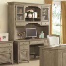Myra - Credenza Desk - Natural Finish Product Image