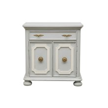 Simply Charming Painted Bed Chest