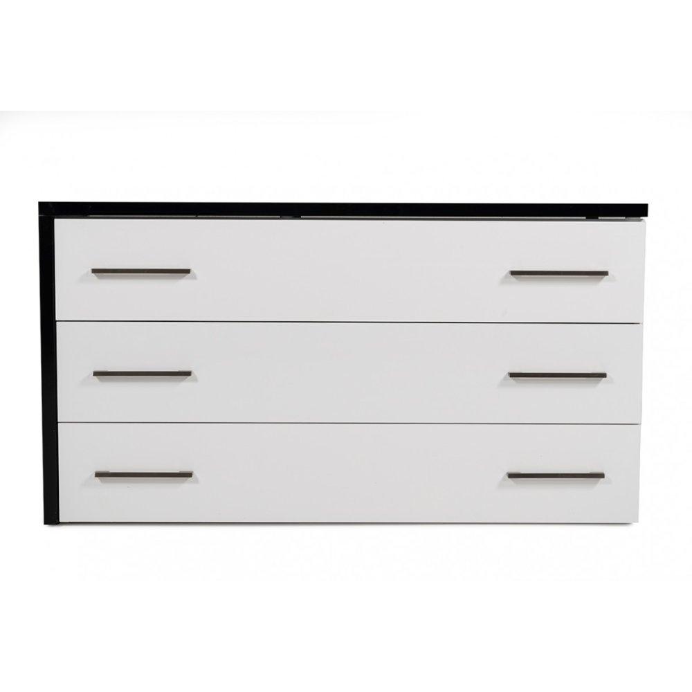 Modrest Moon Contemporary Black & White Dresser