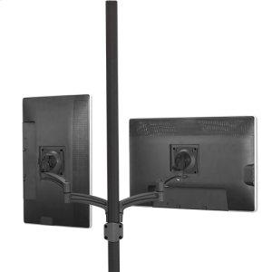 Chief ManufacturingKontour K2P Pole Mount Articulating Arms, Dual Monitor