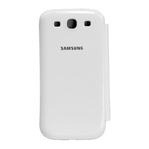 Samsung Galaxy S® III Flip Cover, Marble White