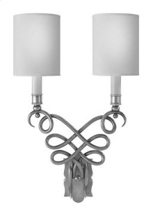 Visual Comfort SC2160BZ-NP Eric Cohler Catherine 2 Light 13 inch Bronze Decorative Wall Light