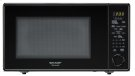 1.8 cu. ft. 1100W Sharp Black Carousel Countertop Microwave (R-559YK) Product Image