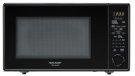 1.8 cu. ft. 1100W Sharp Black Carousel Countertop Microwave (R-559YK) Product Image