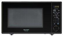 1.8 cu. ft. 1100W Sharp Black Carousel Countertop Microwave (R-559YK)