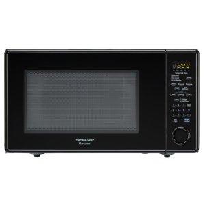 Sharp Appliances1.8 cu. ft. 1100W Sharp Black Carousel Countertop Microwave