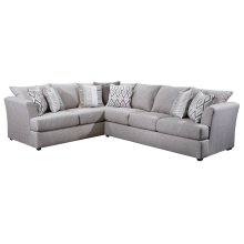8009 Stationary Sectional