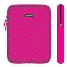 Polaroid Plush Neoprene iPad 2 and iPad 3 Protective Sleeve, Pink - PAC160PK
