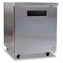 Refrigerator, Single Section Undercounter with Lock