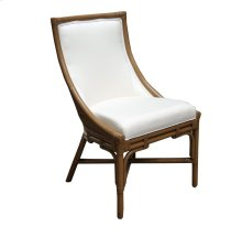 Side Chair, Available in Distressed Beige or Light Brown Finish.