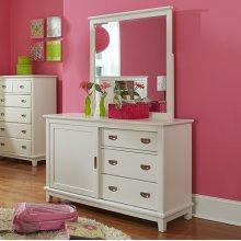 Bailey Mirror - White