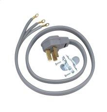 Universal range power cord (3W / 4' / 40A)