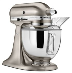 Custom Metallic® Series 5 Quart Tilt-Head Stand Mixer - Brushed Nickel