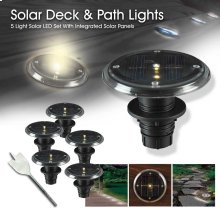 5 Pc Set Deck Lights