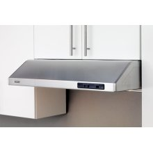 """30"""" Cyclone Under Cabinet Hood with Slide Controls"""