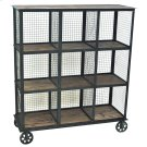 Industria Metal and Wood Bookcase Product Image
