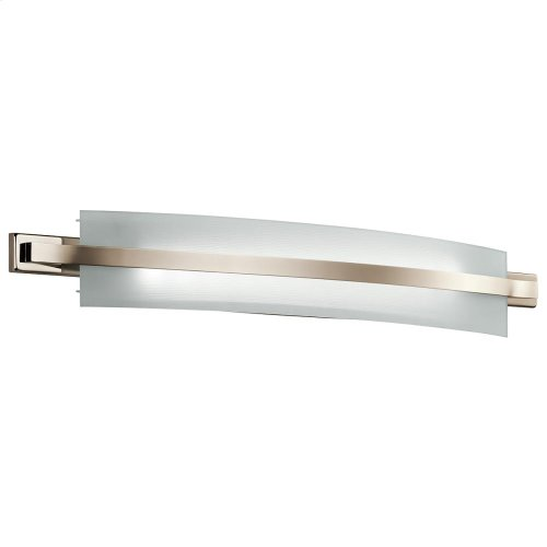 """Freeport Collection Freeport 36"""" LED Linear Bath Light in PN"""