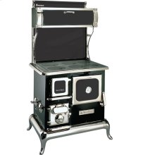 Black Sweetheart Wood Cookstove without Water Reservoir