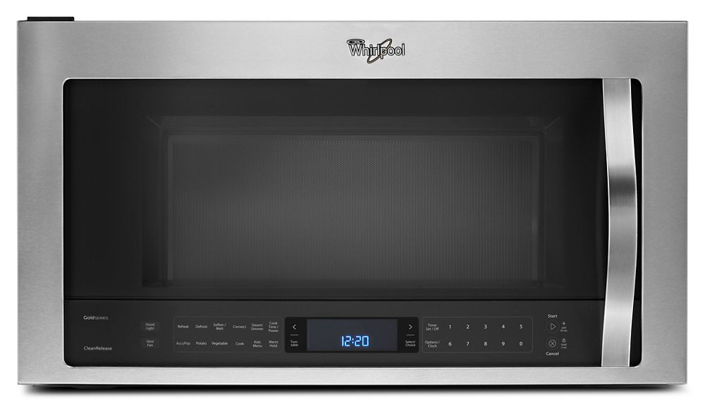 Whirlpool® 1.9 cu. ft. Microwave Hood Combination with TimeSavor Plus True Convection